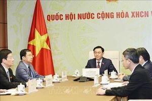 Nâng cao hơn nữa hiệu quả hợp tác giữa Quốc hội hai nước Việt Nam - Lào