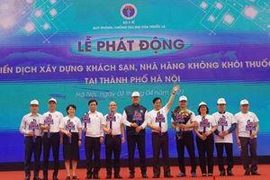 Phát động chiến dịch xây dựng khách sạn, nhà hàng không khói thuốc tại TP Hà Nội
