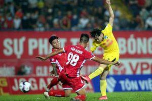 Vòng 7 V-League 2021: HAGL và Đà Nẵng tạm dẫn đầu đường đua