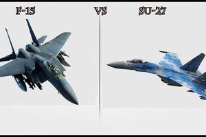 Tiêm kích Su-27 và F-15 đối đầu, đâu là kẻ vô địch?