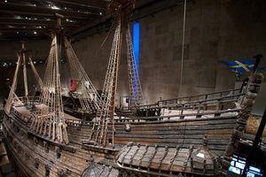 Siêu tàu chiến Vasa chìm nghỉm sau 20 phút