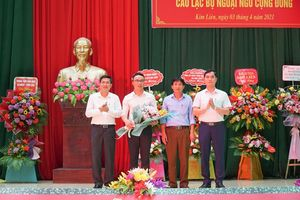 Khai giảng 'CLB ngoại ngữ cộng đồng' miễn phí đầu tiên tại Nghệ An