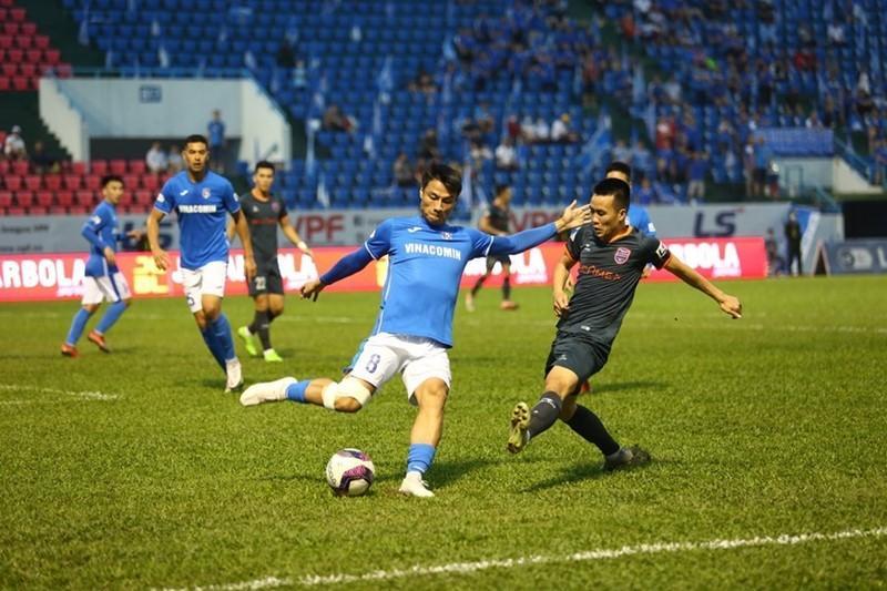 Video bàn thắng Quảng Ninh 1-0 Bình Dương
