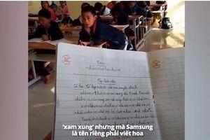 Học sinh tiểu học làm văn tả chiếc tivi 'khổng lồ', dân tình nghe xong cười lăn lộn