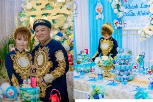 Cặp đôi 9X Bạc Liêu gây ngạc nhiên với lễ ăn hỏi trọn bộ Doremon