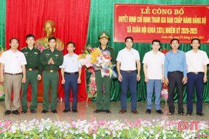 Nghi Xuân có 2 cán bộ biên phòng tham gia BCH đảng bộ các xã miền biển