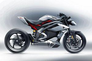 Hé lộ hình ảnh thiết kế của xe điện Triumph Project TE-1