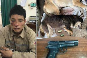Thái Nguyên: Đối tượng trộm chó dùng súng bắn công an khi bị truy đuổi