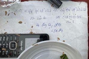 Nam thanh niên nhảy đập nước tự tử, để lại lời nhắn 'Xin ai gặp gọi về nhà tới lấy đồ giúp'