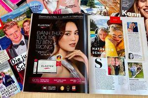 Bất ngờ xuất hiện trên tạp chí Đức, Ninh Dương Lan Ngọc khiến fan đứng hình vì quá đẹp