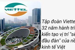 Tập đoàn Viettel: 32 năm hành trình kiến tạo vị trí 'sếu đầu đàn' của nền kinh tế Việt