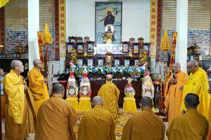 Bến Tre: Lễ húy nhật Hòa thượng Thích Vĩnh Thiệu, đệ nhất trụ trì chùa Viên Minh