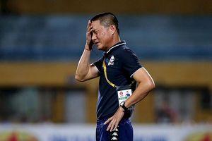 Trên bờ khủng hoảng, CLB Hà Nội sẽ thay HLV trưởng Chu Đình Nghiêm?
