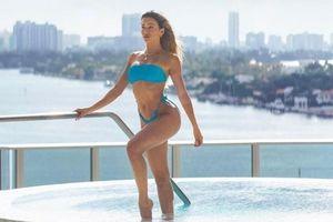 Mẫu nội y 9x Cindy Prado khoe 3 vòng 'rực lửa' với bikini