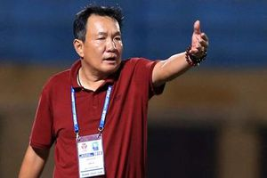 HLV Hoàng Văn Phúc dẫn dắt Hà Nội FC