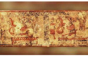 Hé lộ cái chết của người môi giới quyền lực Maya cổ đại qua chữ tượng hình