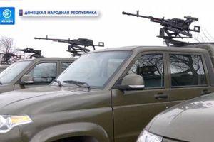 Nga đã chính thức cung cấp cho DPR một lô vũ khí để ứng phó Ukraine