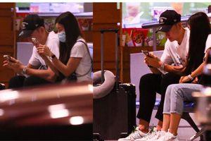 Tiễn Đặng Văn Lâm lên đường sang Nhật, bạn gái nóng bỏng quyến luyến không nỡ chia tay nam cầu thủ