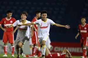 Học viện NutiFood hạ U19 Bình Định để giành vé vào tứ kết