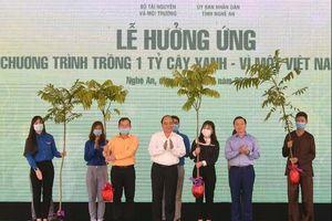 Thủ tướng chính thức phê duyệt đề án trồng 1 tỉ cây xanh