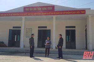 Đảng bộ xã Hóa Quỳ phát huy vai trò lãnh đạo của chi bộ nông thôn