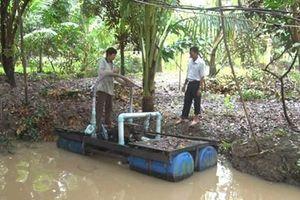 Chủ động khai thác, dự trữ nguồn nước ngọt hợp lý trong mùa khô, hạn ở ĐBSCL
