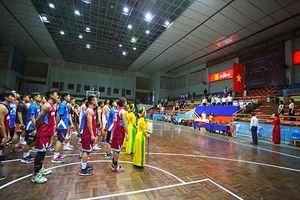 13 đội bóng nam, nữ tranh tài Giải vô địch bóng rổ quốc gia