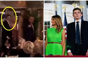 Barron Trump hiếm hoi lộ diện cùng cha mẹ với ngoại hình hiện tại chiếm trọn mọi sự chú ý