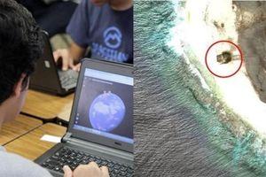 Xem Google Earth, một người thấy 'vật thể lạ' trên hòn đảo xa xôi, tin đó là đĩa bay rơi