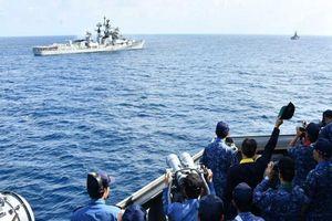 Pháp và các nước Bộ tứ cùng tập trận ở Vịnh Bengal