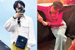 G-Dragon trông nữ tính khi diện đồ Chanel