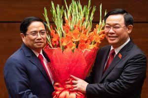 Lễ tuyên thệ của Thủ tướng Phạm Minh Chính