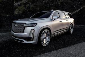 Chi tiết Cadillac Escalade Platinum ESV 2021 của Kim Kardashian