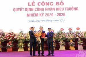 Ông Trịnh Minh Thụ tiếp tục được bổ nhiệm làm Hiệu trưởng Đại học Thủy lợi