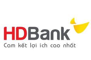 HDBank được thành lập 05 chi nhánh