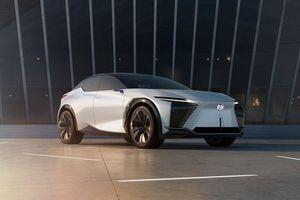 Lexus LF-Z Electrified chạy điện - tương lai của Lexus