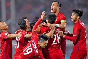 Đội tuyển Việt Nam lên hạng 90 thế giới
