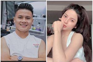 Chiều cao lý tưởng, body mướt mắt của bạn gái tin đồn Quang Hải
