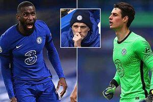 Rudiger và Kepa 'tẩn' nhau trong buổi tập ngay sau trận thua sốc của Chelsea