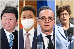 Đức và Nhật Bản lần đầu tiên tổ chức hội đàm '2+2' thảo luận hợp tác đối phó Trung Quốc
