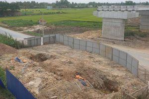 Sớm giải quyết vụ đường ống nước cản cầu vượt cao tốc TP.HCM - Trung Lương