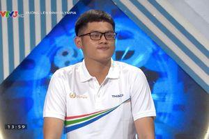 Nam sinh Bình Định giành chiến thắng ở Olympia: Tự nhận mình hay 'ngơ', sở trường là độc thoại nội tâm