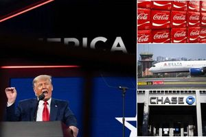 Ông Trump kêu gọi tẩy chay Coca-Cola, Delta Airlines cùng loạt công ty Mỹ