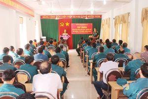 Tập huấn cán bộ Ban Chỉ huy Quân sự cơ quan, tổ chức năm 2021