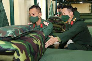 Những ngày đầu trong quân ngũ