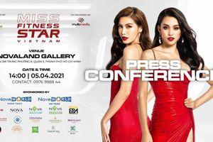Dàn người đẹp 'đốt cháy' thảm đỏ họp báo Miss Fitness Star Việt Nam