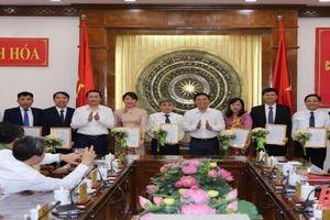 Nghệ An, Thanh Hóa và Khánh Hòa bổ nhiệm nhân sự lãnh đạo mới
