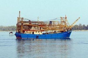 Tàu cá cùng 12 ngư dân Quảng Nam mất liên lạc?
