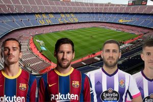 Dự đoán tỷ số, đội hình xuất phát trận Barca - Valladolid