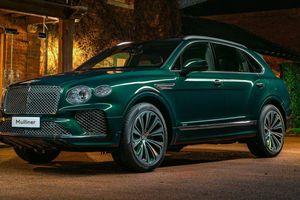 Ngắm SUV siêu sang Bentley Bentayga xanh ngọc lục bảo độc nhất vô nhị